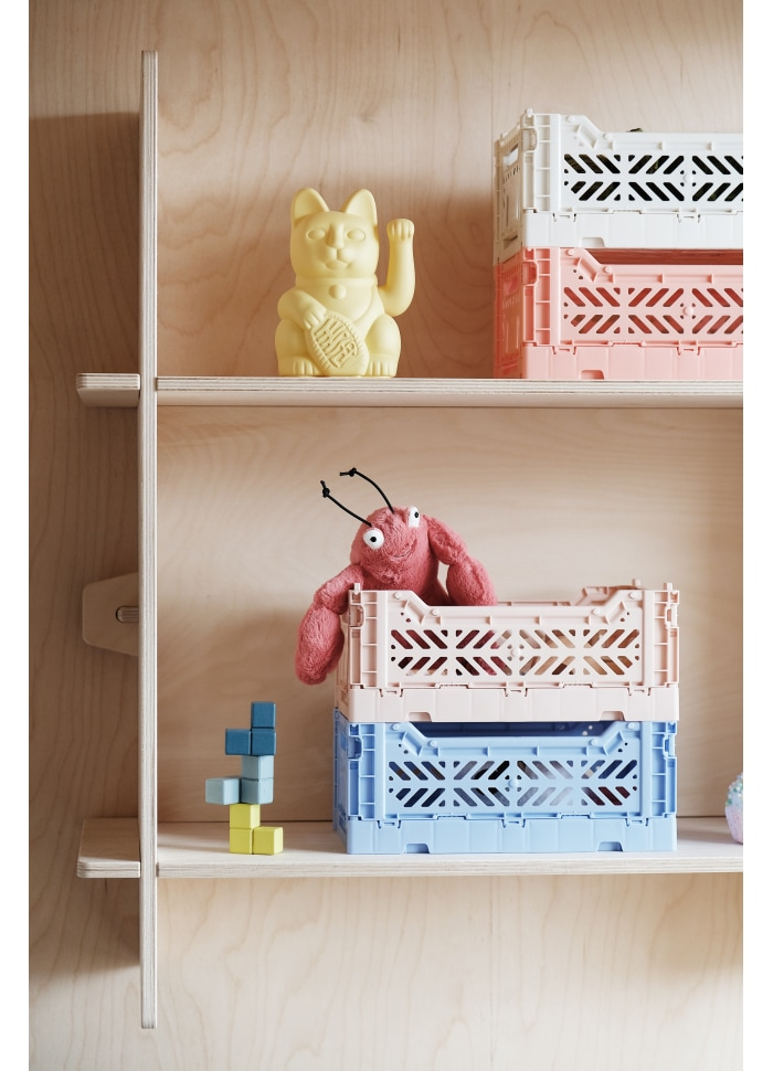 AyKasa Mini Storage Box Tile Red
