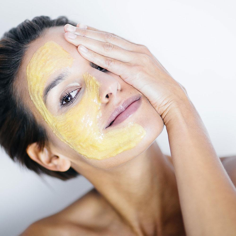 Gesichtspeeling Orangen Enzyme & Mangobutter