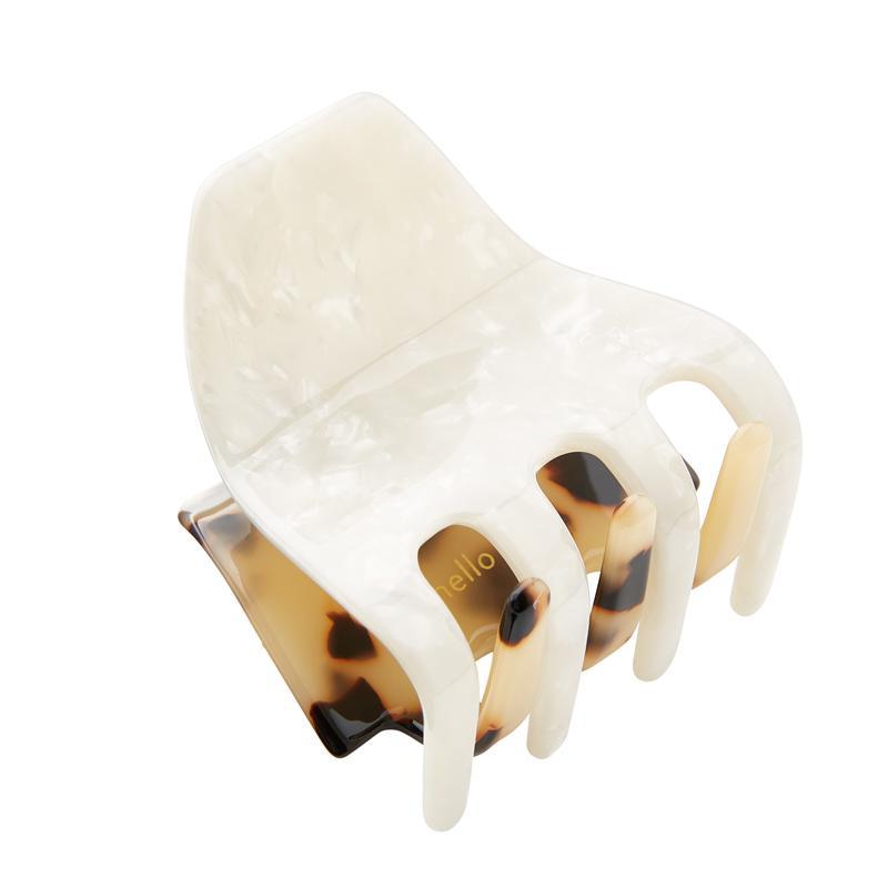 BIG Haarspange Fee Bicolor classic beige/pearl