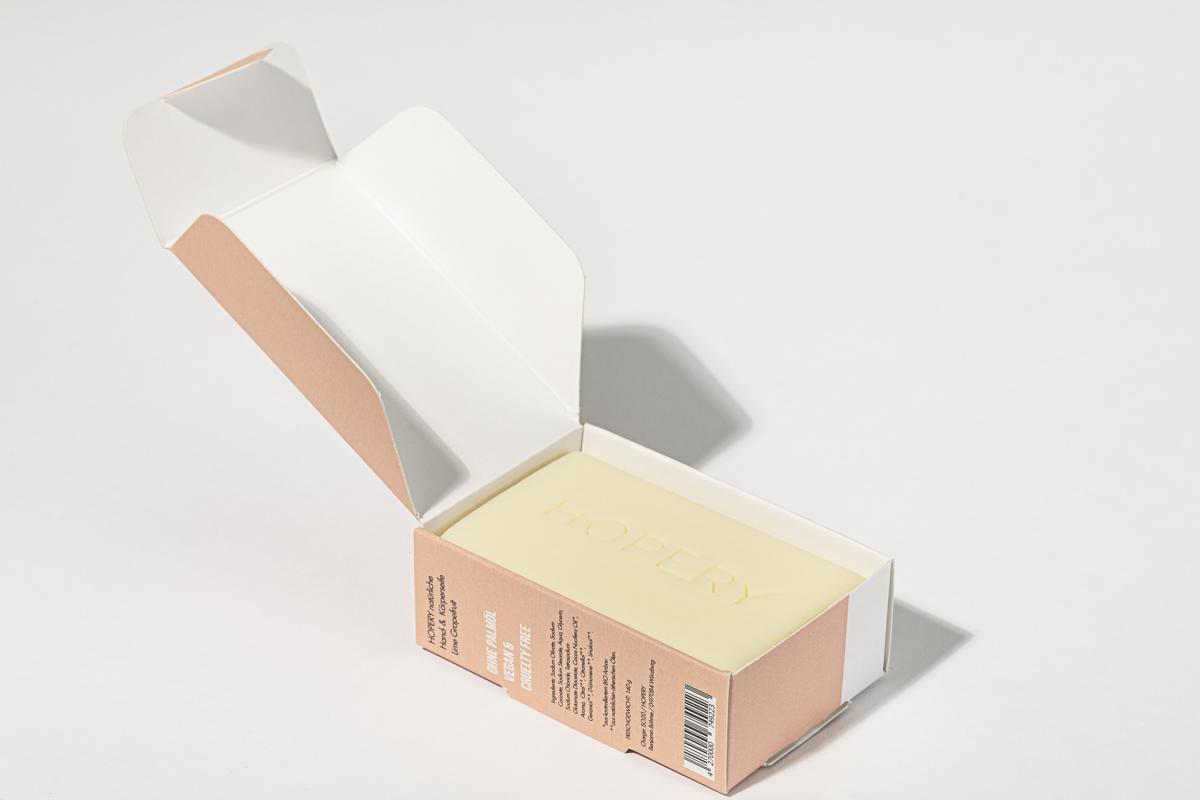 Hopery natural friendly bar soap 140g