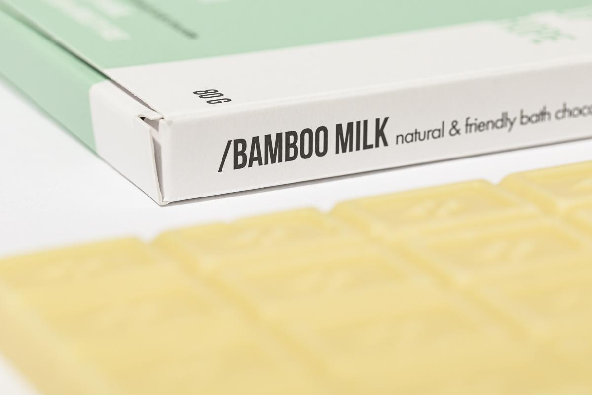 natural friendly bath chocolate 80g BAMBOO