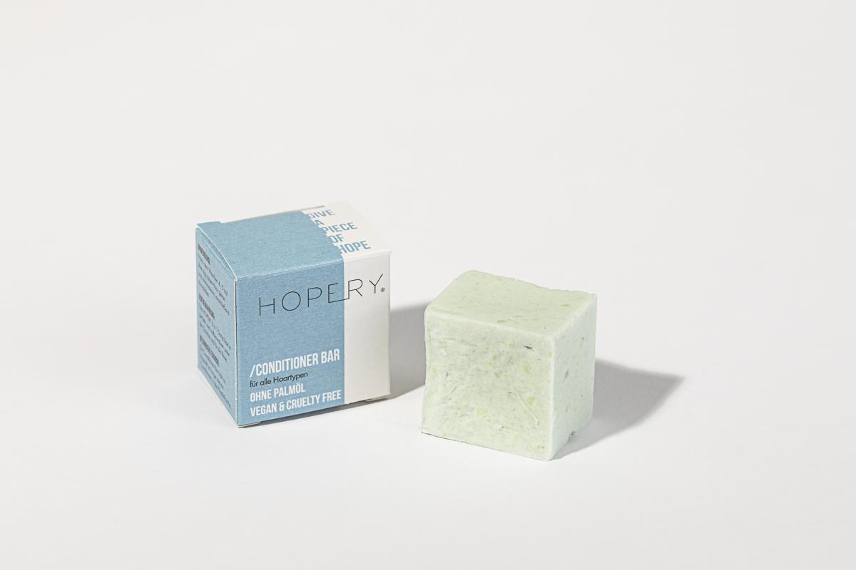 Hopery conditioner bar für jedes Haar
