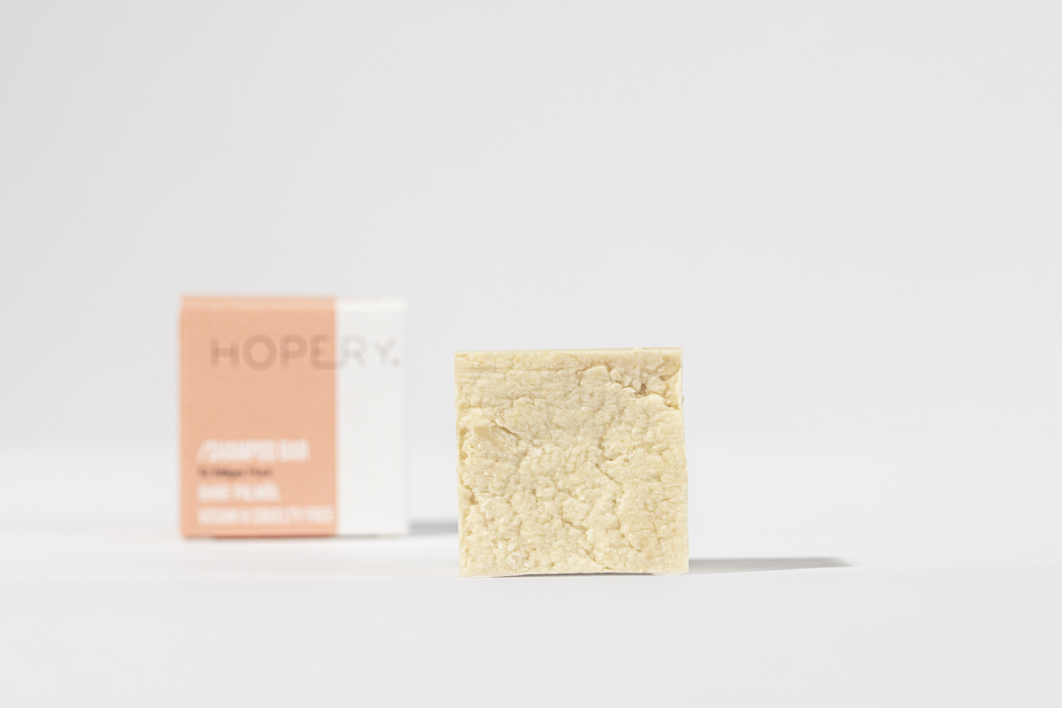 Hopery shampoo bar für fettiges Haar