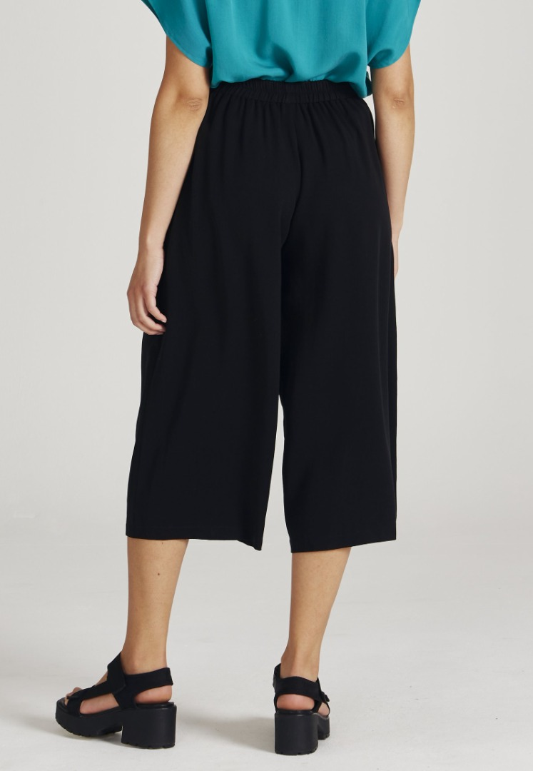 Givn - Anna Trousers Black Tencel