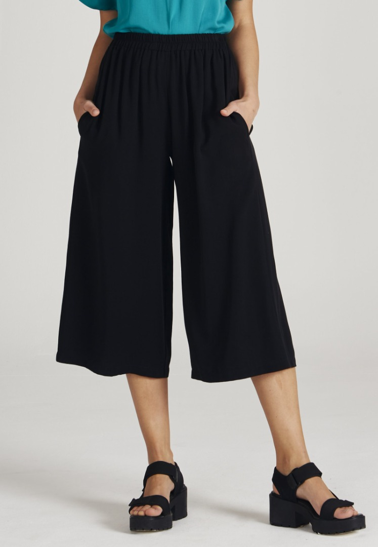 Givn - Anna Trousers Black Tencel