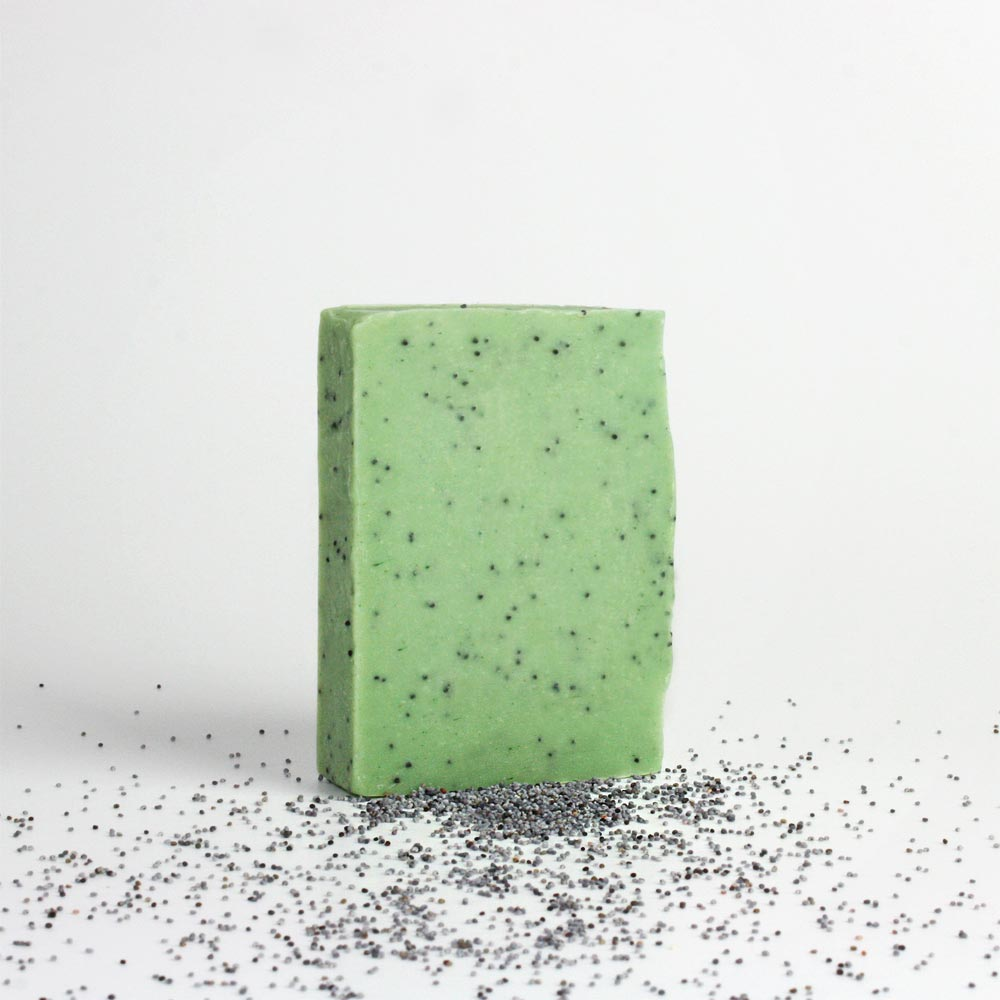 SOAP FOR HEROES Duschseife Minze Mohn