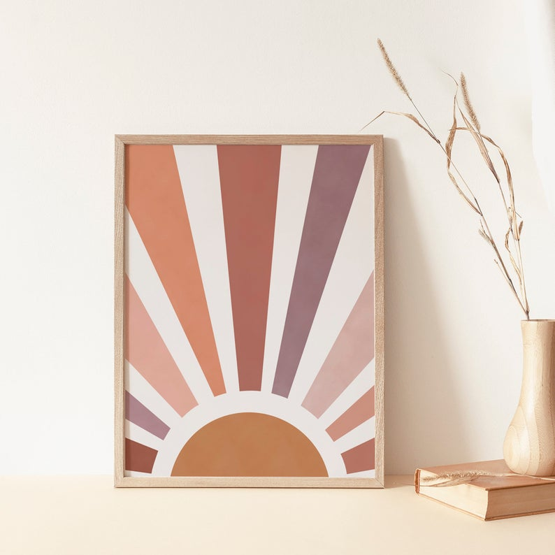 Kunstdruck - Sun Print A4