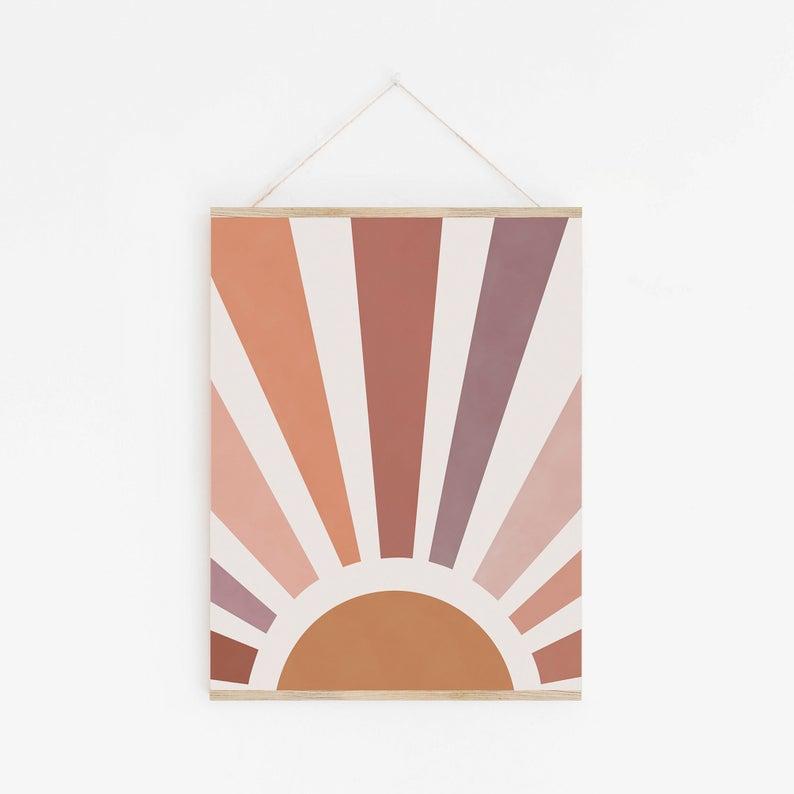 Kunstdruck - Sun Print A4 2