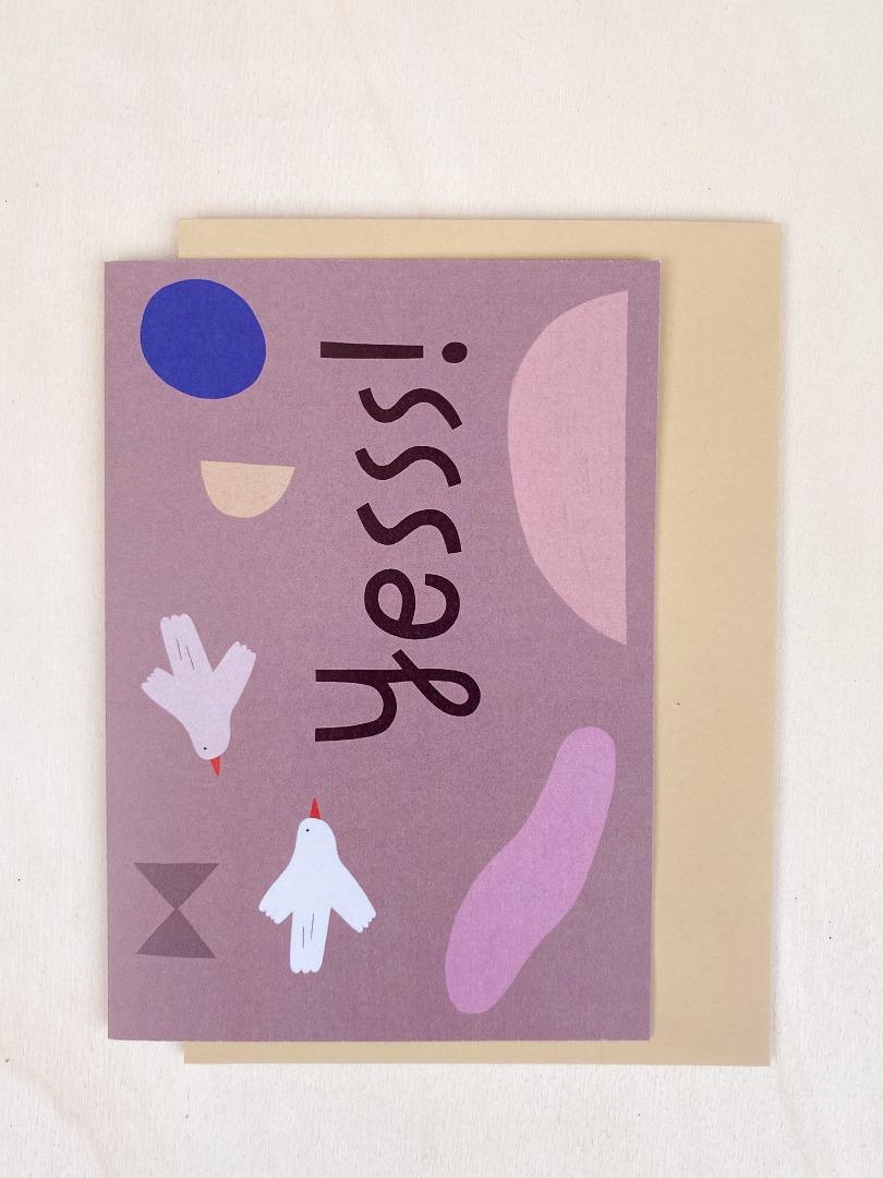 Klappkarte - Yesss 2