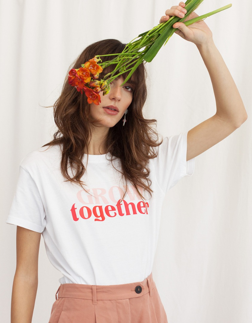 GROW TOGETHER WOMOM T-SHIRT