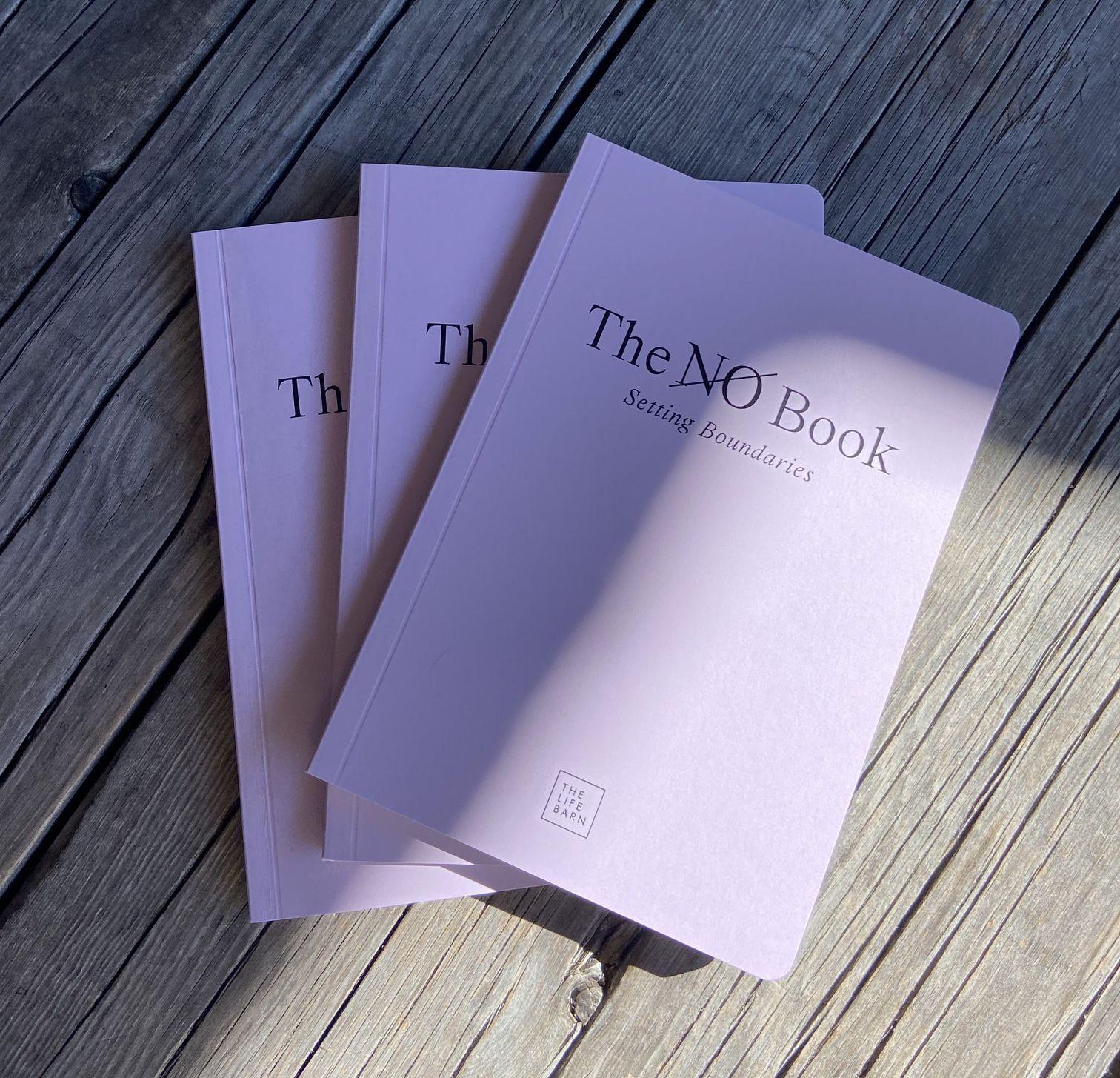 The No Book: Setting Boundaries lavendel