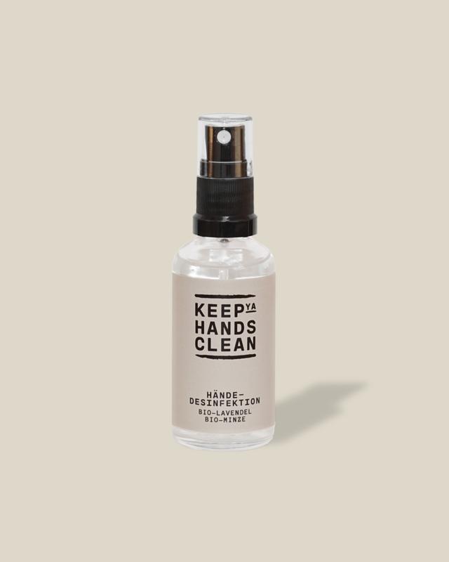 keep ya hands clean Hände-Desinfektionsspray 50ml