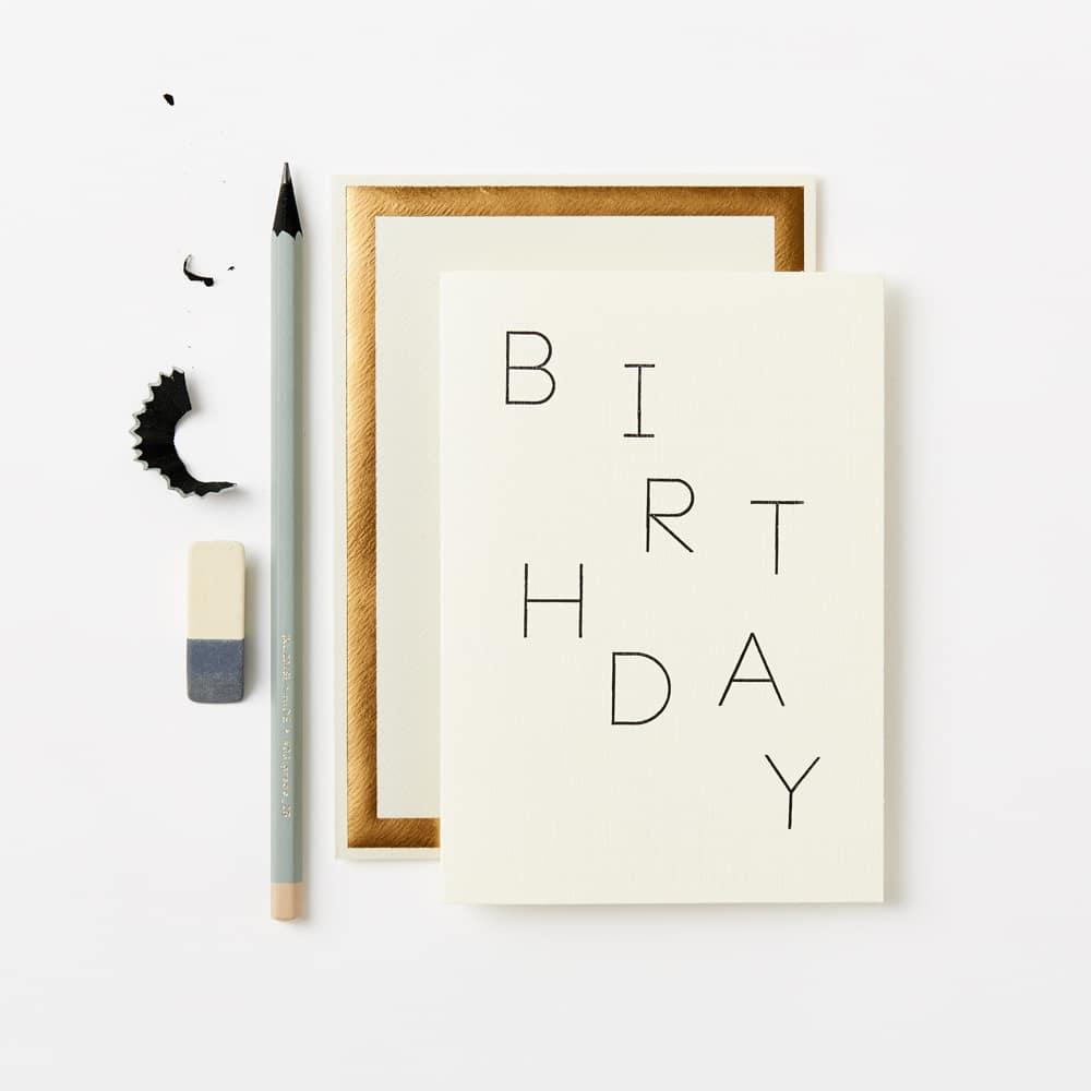 Klappkarte - BIRTHDAY RANDOM CARD
