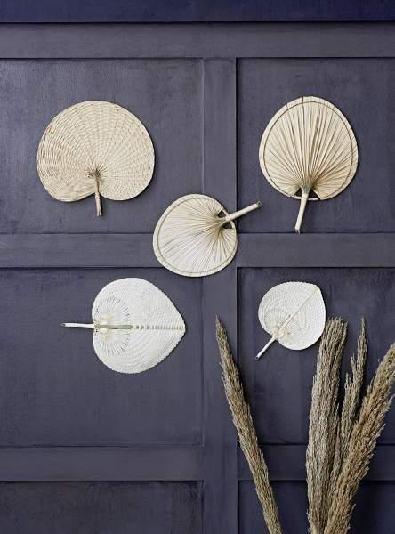 Liv interior- Palmenfächer gewebt natur