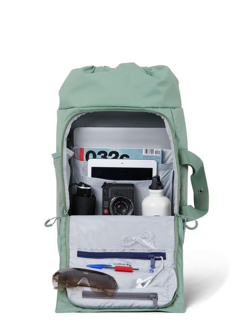 Backpack BLOK medium - Bush Green