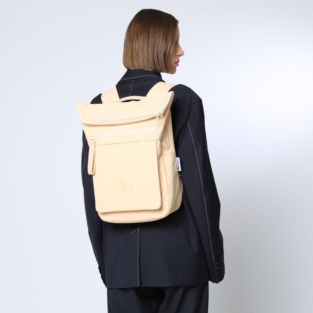 pinqponq Backpack KLAK - SUNSAND APRICOT