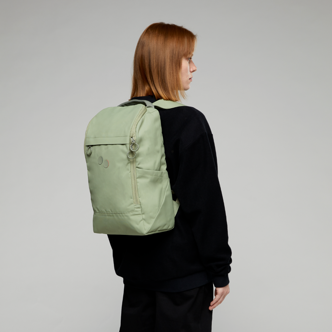 pinqponq Backpack PURIK- Sage green 8