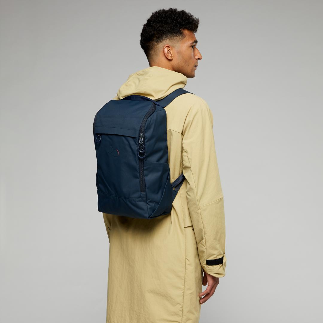 pinqponq Backpack PURIK- Slate blue 8