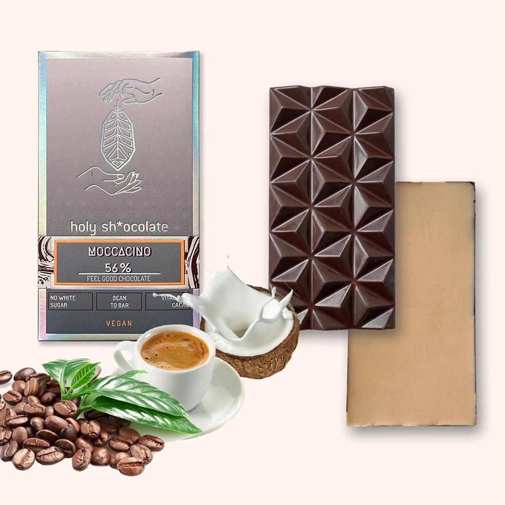 HOLY SHOCOLATE MOCCACINO aromatischer Kaffee mit