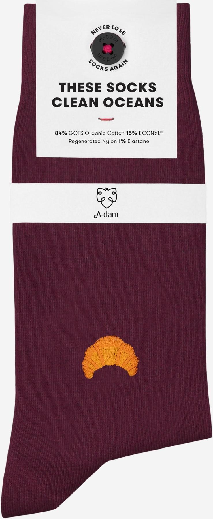 A-dam - Socken MOLLY - Bordeaux