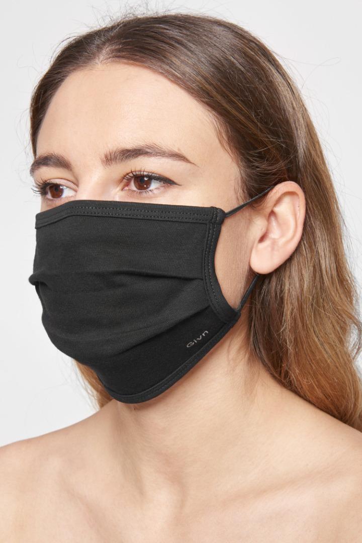 Mund-Nasen-Maske - Black
