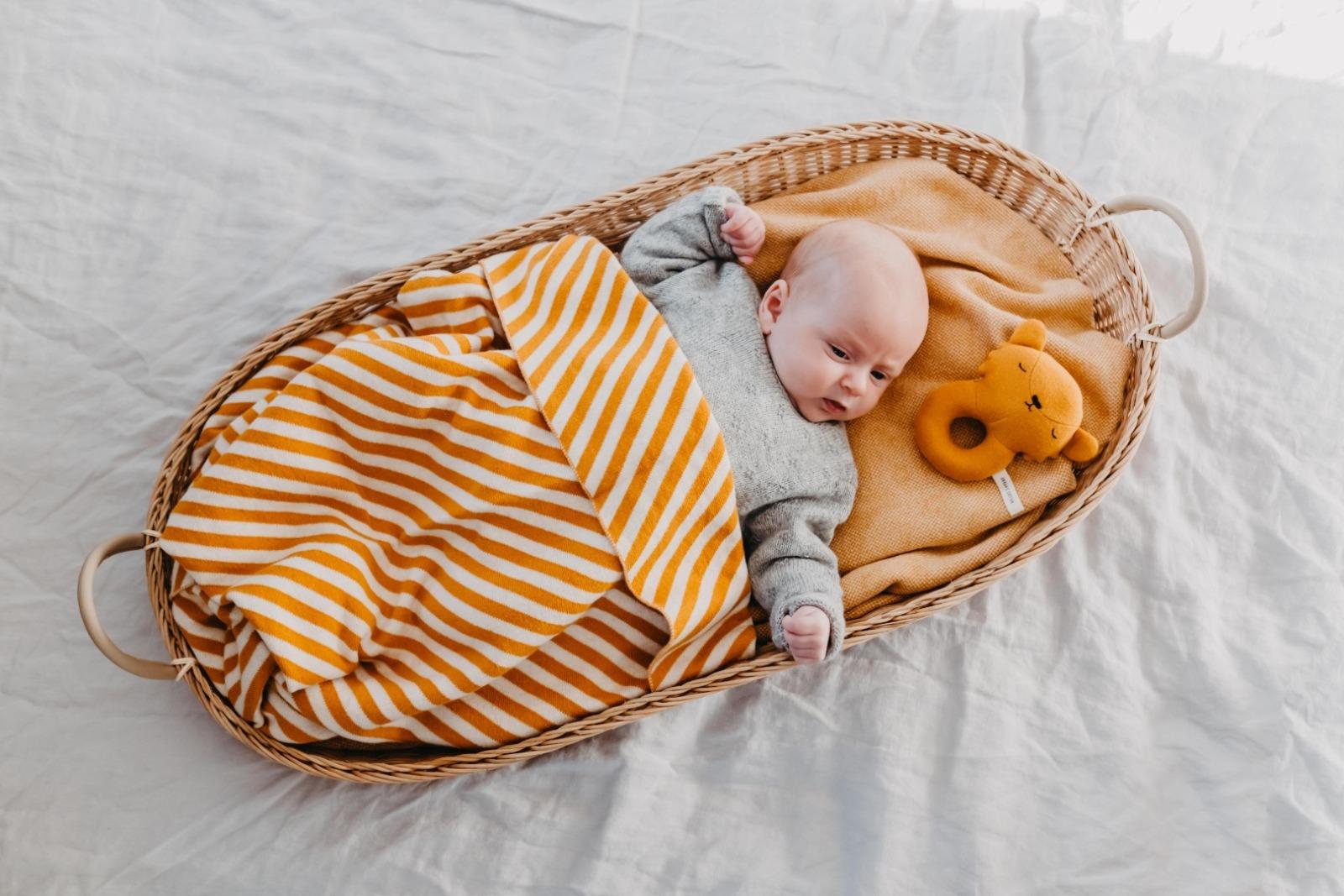 Eef Lillemor - Blanket stripes/brown