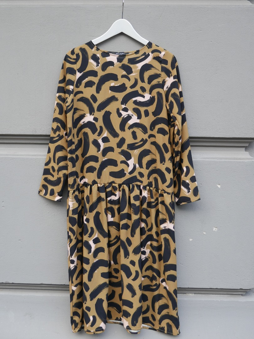 LOULOU DRESS Gold Cat 4