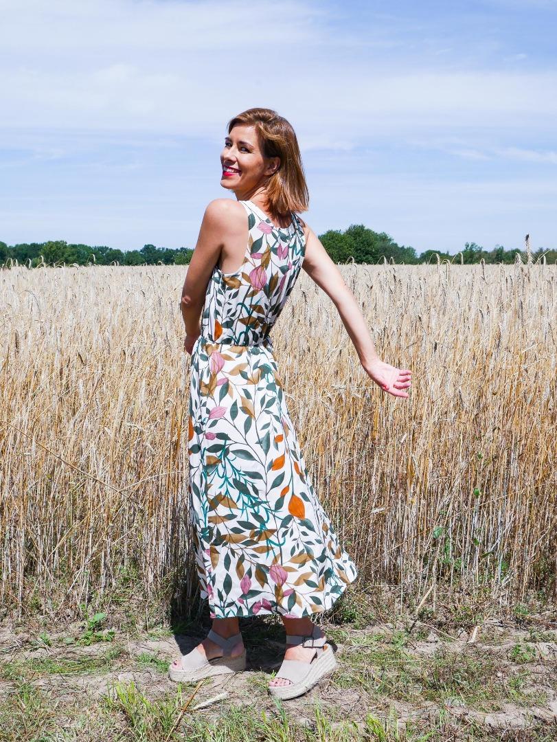 SUN DRESS White Meadow