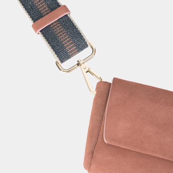 ann kurz PACK Shoulder Bag rosewood