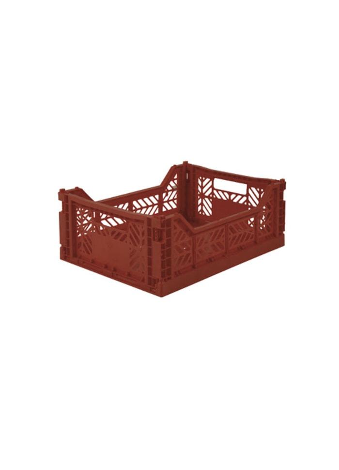 AyKasa Midi Storage Box tile red