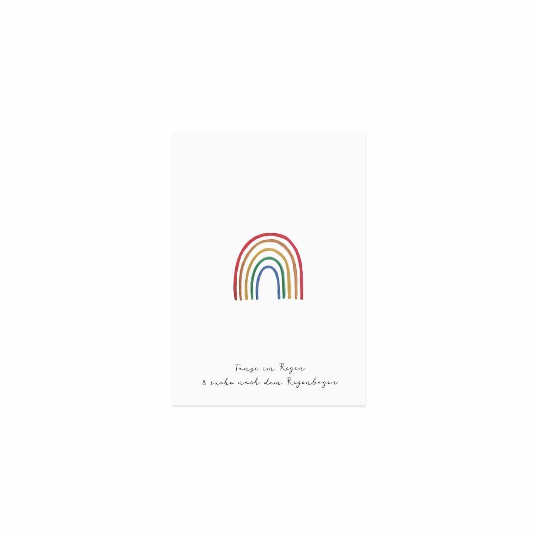 Postkarte - Regenbogen