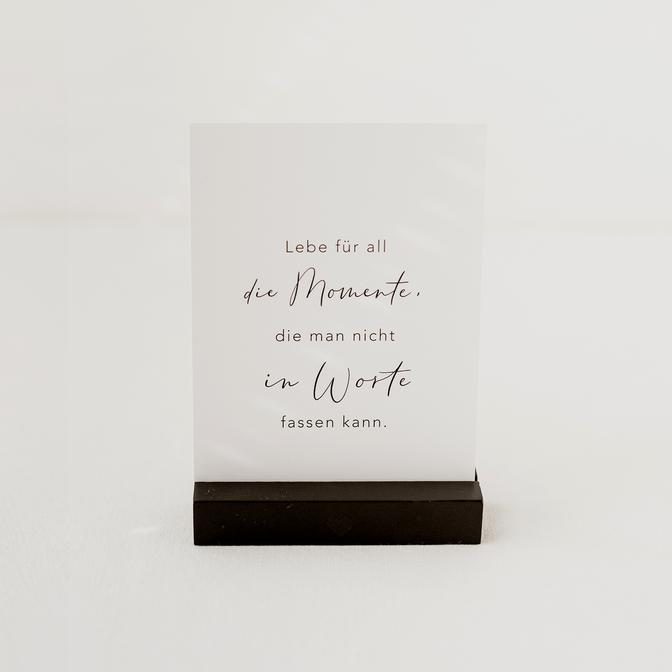 Eulenschnitt - Postkarte - Momente