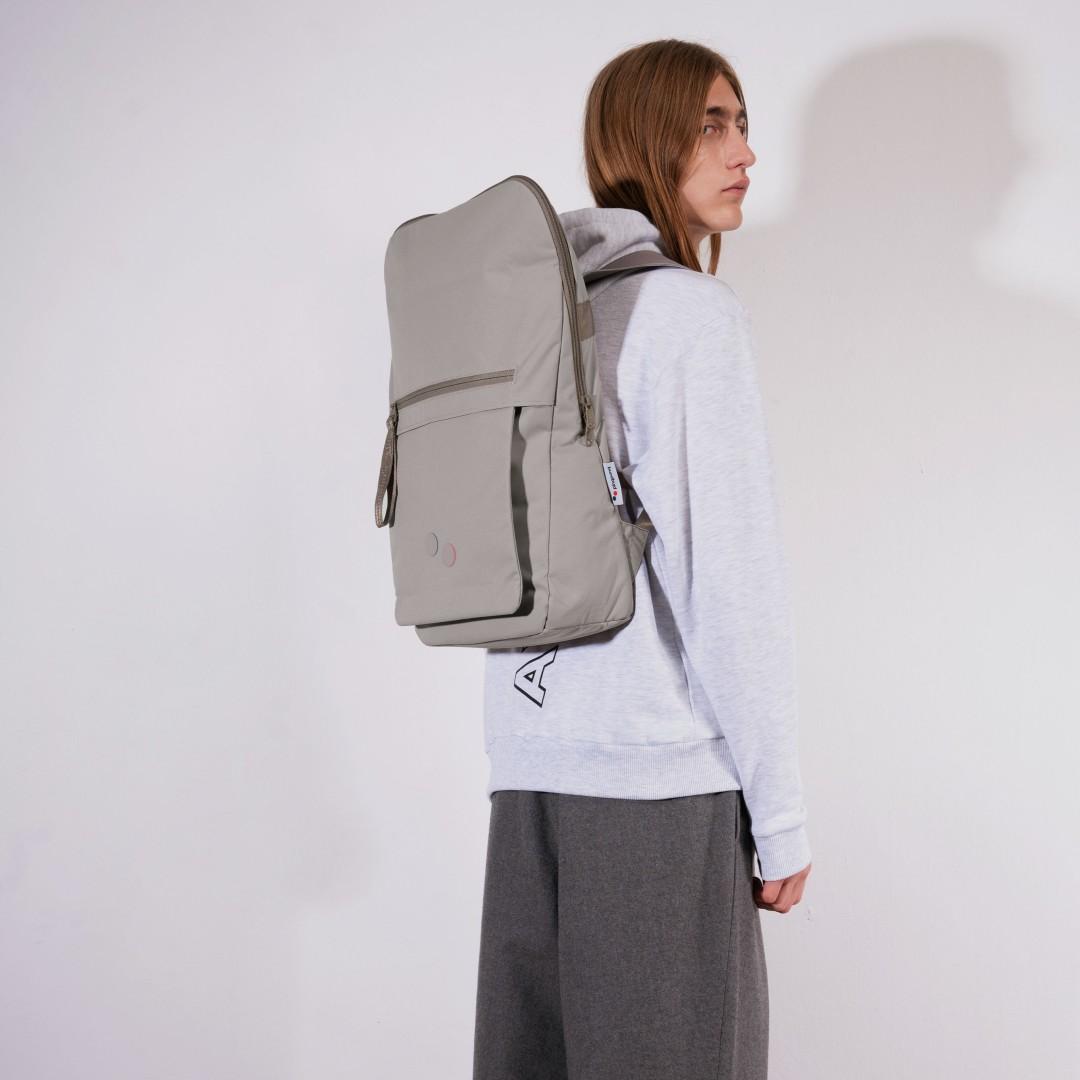 pinqponq Backpack KLAK - CEMENT TAUPE