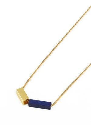POTIPOTI - Rainbow Kette - black/gold