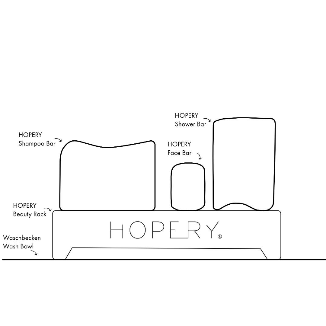 Hopery - Beauty Rack / WHITE