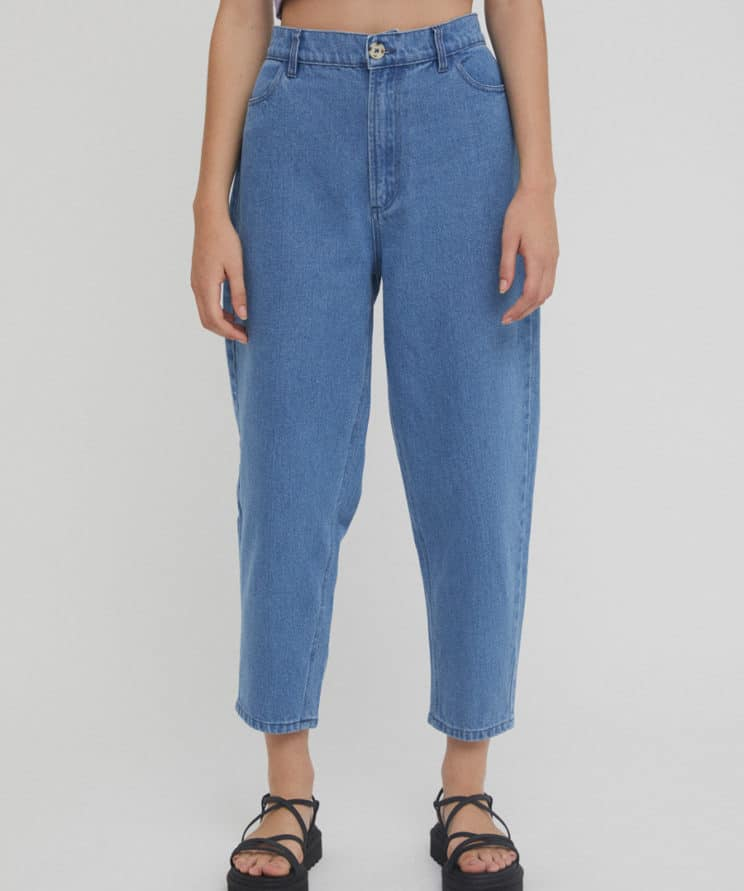 RITA ROW Brita Slouchy Jeans Hight