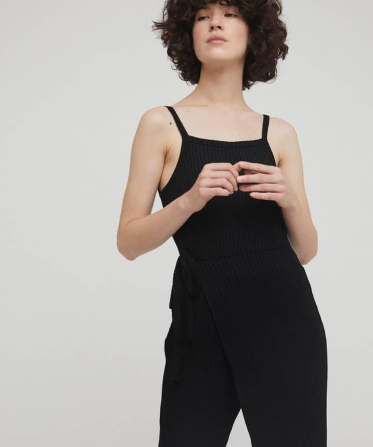 RITA ROW - Lina Jumpsuit Black