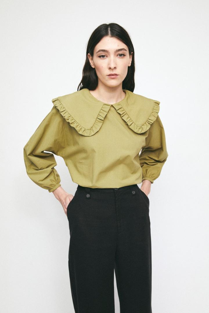 RITA ROW Lila Shirt Light Khaki