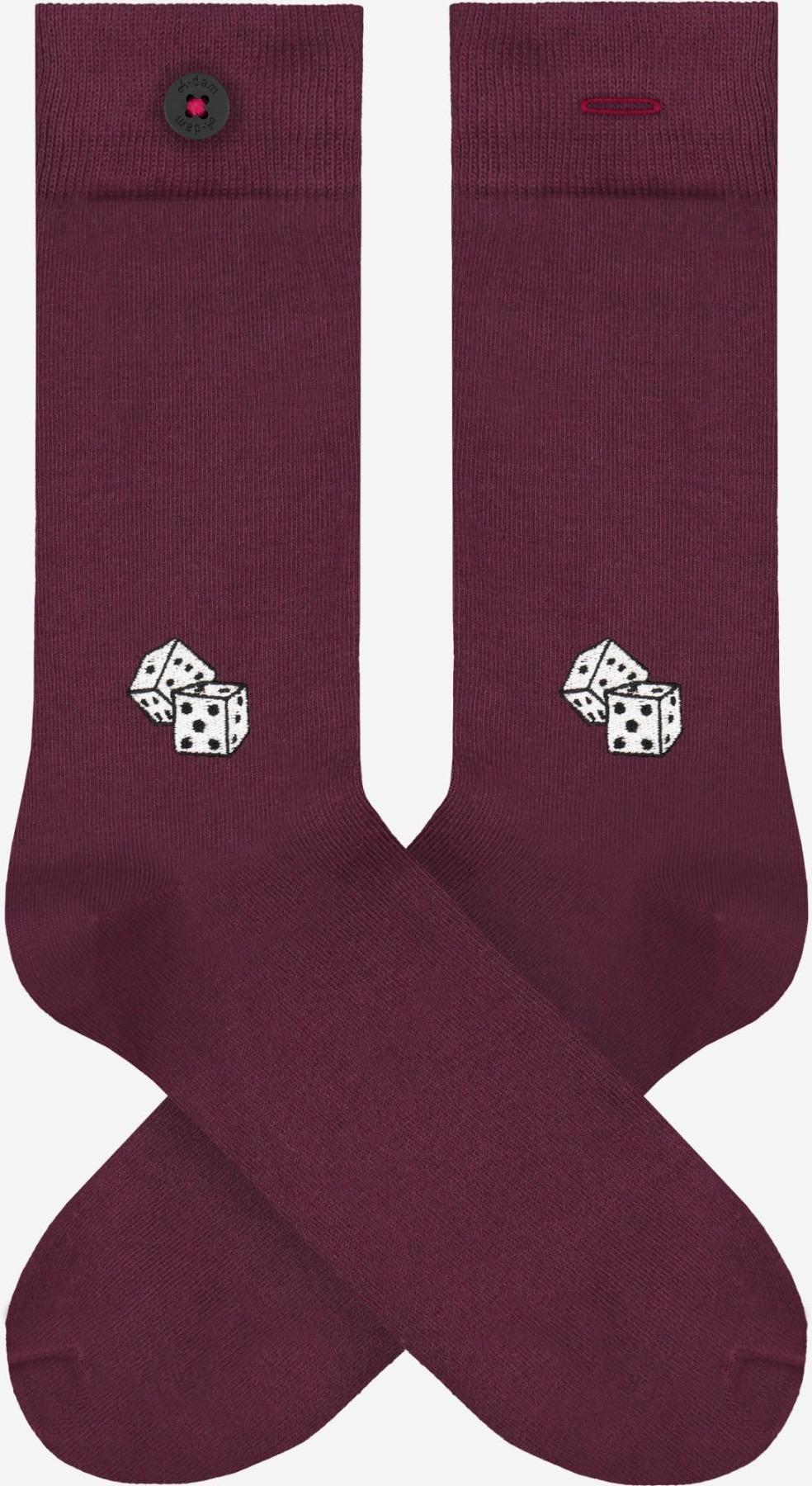 A-dam - Socken BRICE - Bordeaux