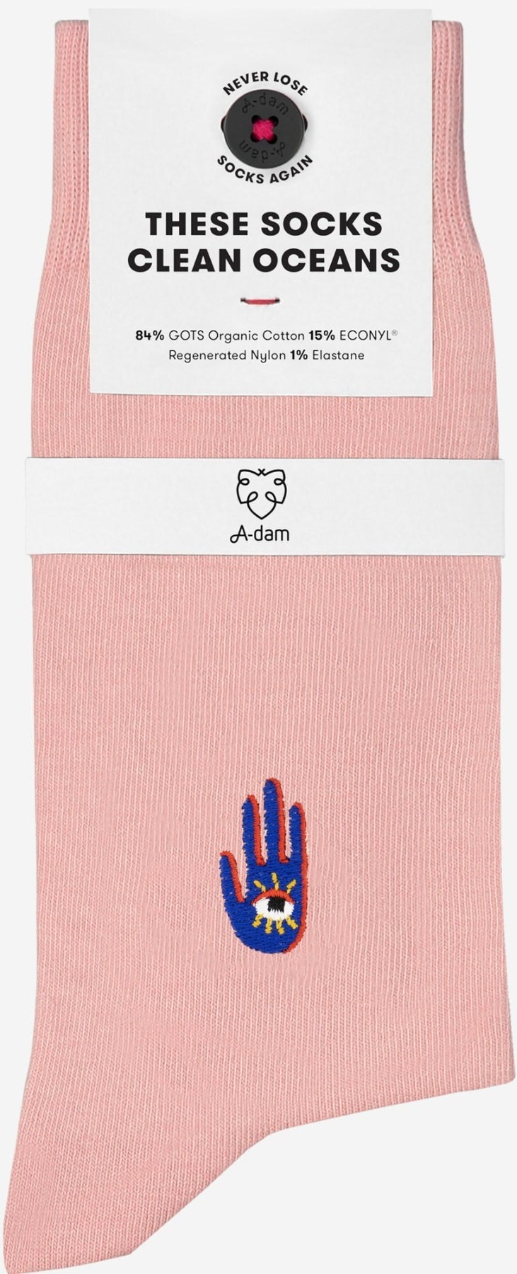 A-dam - Socken HENNIE - Rose