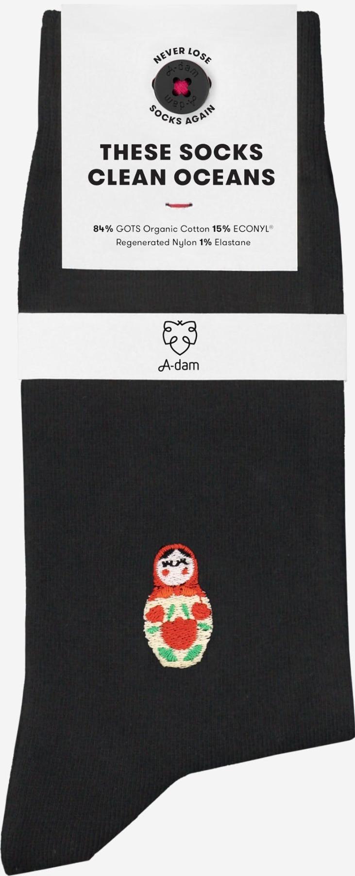 A-dam - Socken MABEL - Black