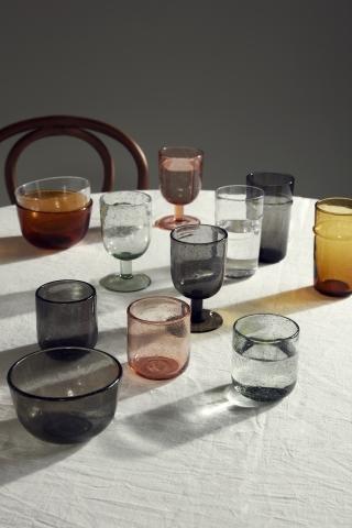NORDAL MAROC drinking glass light pink