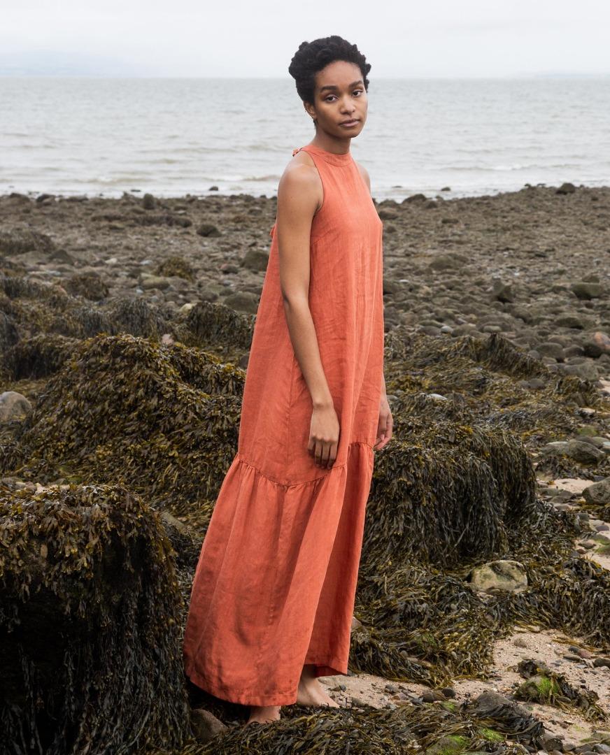 BEAUMONT ORGANIC - PRIYA-CLAY DRESS