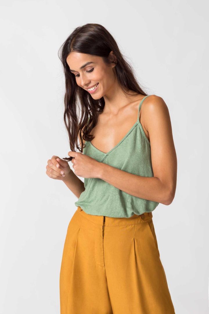SKFK - LILI T-SHIRT pale green