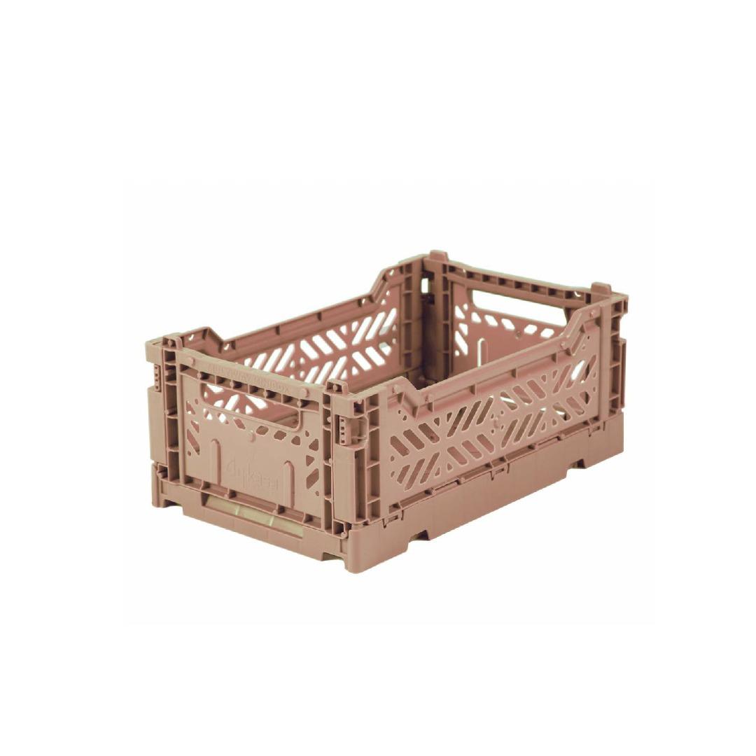 AyKasa Mini Storage Box warm taupe