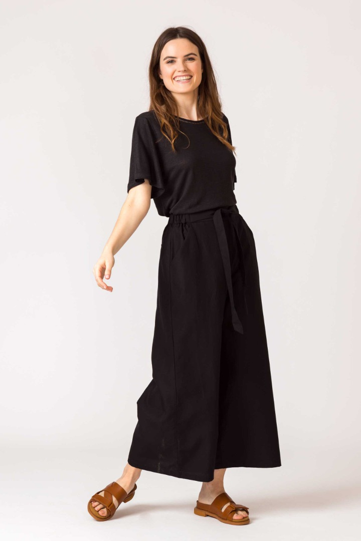 SKFK - DONA Trousers black