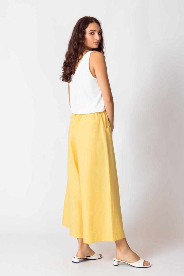 SKFK - DONA Trousers yellow 4