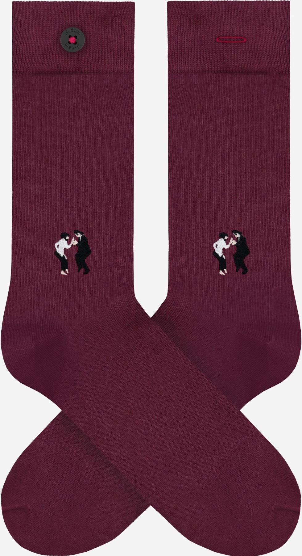 A-dam - Socken WALLY - Bordeaux