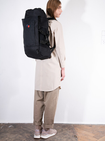 Backpack BLOK large Licorice Black Bold