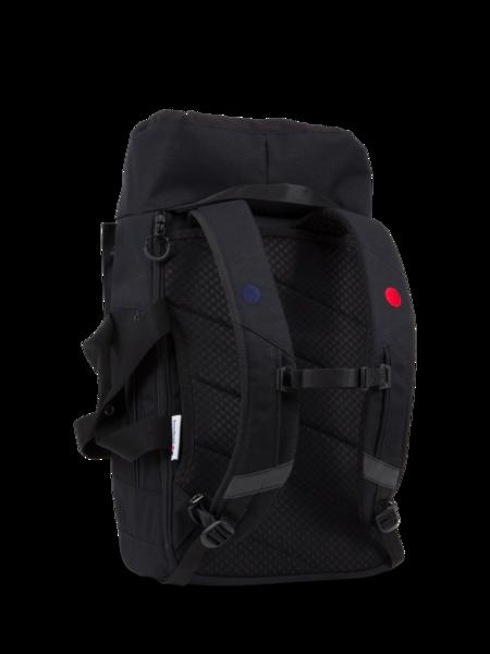 pinqponq Backpack BLOK medium Licorice Black
